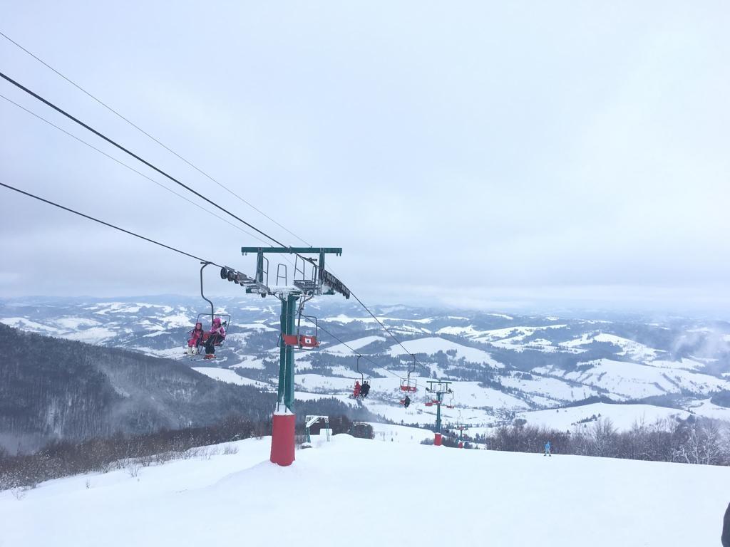 Jak jsme lyžovali na Ukrajině
